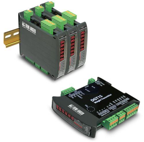 Vážní indikátor DINI ARGEO DGT1SAN, 4-20mA/0-10V, RS232/485