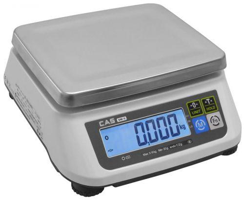 Váha na porce CAS SW2 s váživostí do 30kg bez zadního displeje