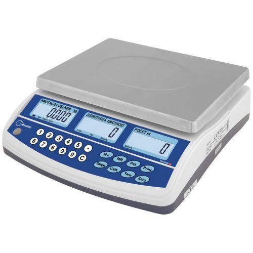 Počítací váha ověřitelná BAXTRAN BC 15kg se zákaznickým displejem