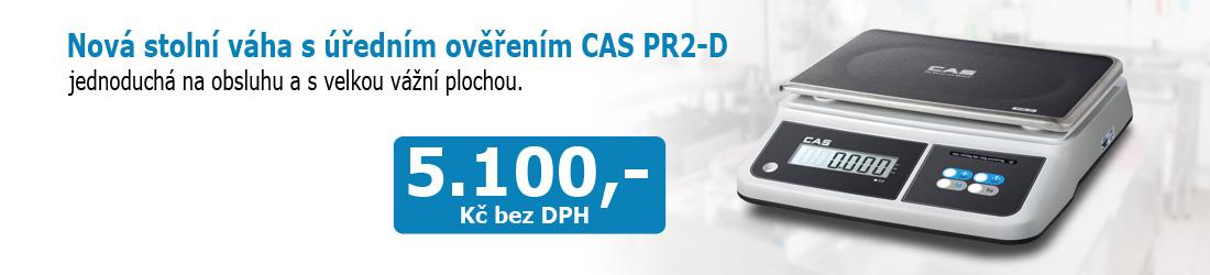 Novinka - stolní váha CAS PR2-D